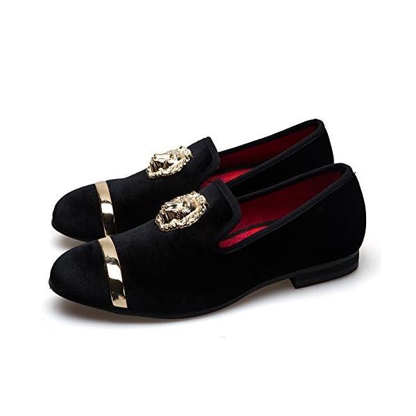 Hombre Penny Slip-On Cuero Forrado mocasín Hombres Zapatos Mocasines…