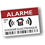 Decooo.be - Autocollants dissuasifs Alarme - Système électronique - Lot...