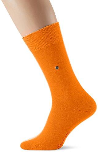 Burlington Lord, Calze Uomo, Orange (Flash Orange 8034), 40/46