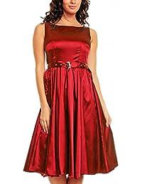 My Evening Dress- Robe de soirée Vintage Style Audrey Hepburn Rockabilly swing