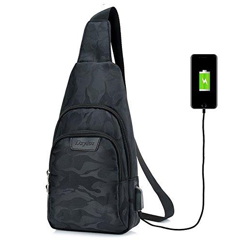 Hongrun Männer Brust Pack Sport Rucksack männlichen Paket koreanische Version von casual Männer Anterior Oblique bag Pack Single Schultertasche
