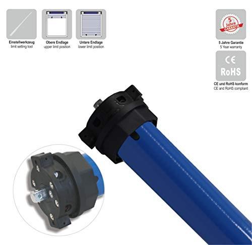 e-ast Rollladenmotor/Rolladenantrieb/Markisenantrieb/Markisenmotor, mechanisch einstellbar (SW60 | 20 Nm | bis 45 kg) (1 ST)