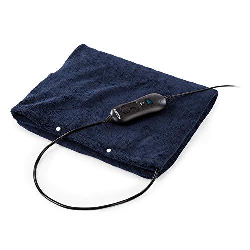 Natürliche Heiz-pad (Klarstein Dr. Watson Heatzone L Heiz-Pad • Heizteppich • Heizmatte • 100 W • 65 x 40 cm • 3 Stufen • Mikroplüsch • Autoabschaltung • Überhitzungsschutz • Anti-Rutsch-Schutz • waschbar • dunkelblau)