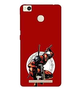 EPICCASE Deadpool Mobile Back Case Cover For Xiaomi Redmi 3S (Designer Case)