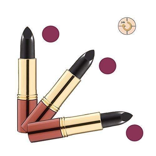 Ikos Rouge à Lèvres Lot de 3: Rouge à lèvres Intelligent DL5 noir - rouge cerise