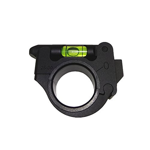 FIRECLUB Tactical Rifle Scope Mount Sights for 25.4/30mm Riflescope Tubes Bubble Spirit Level Hunting Accessories Black