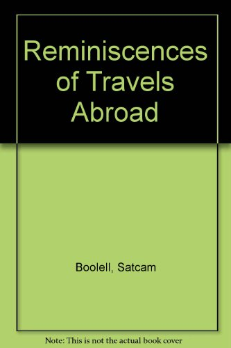 Reminiscences of Travels Abroad