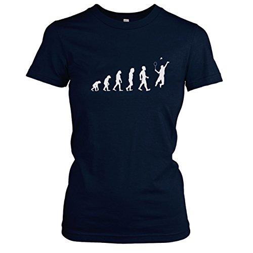 Texlab -  T-shirt - Collo a U  - Maniche corte - Donna blu scuro 44/46