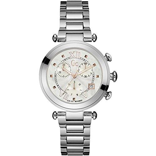 GC Gc Ladychic Damen-Armbanduhr 36.5mm Armband Edelstahl Quarz Analog Y05010M1