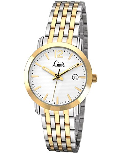 limit-classic-white-dial-2-tone-stainless-steel-bracelet-ladies-watch-6134