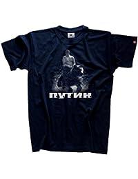 Wladimir Putin auf Bär Russland Russia Russischer Bär T-Shirt S-XXXL