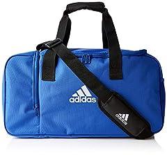 Idea Regalo - adidas Tiro Borsone, Unisex - Adulto, Bold Blue/White, Tagia Unica