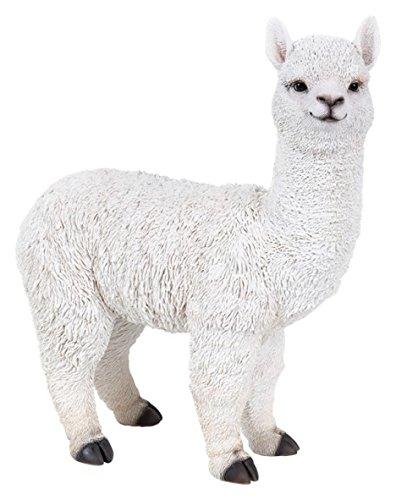 Vivid Arts Farmtier-Freunde, Alpaka, Größe D, weiß