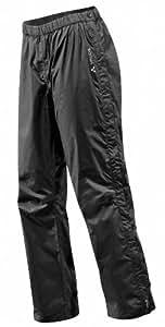 VAUDE Herren Hose Fluid Full-zip Pants II S/S, Black, S, 05393