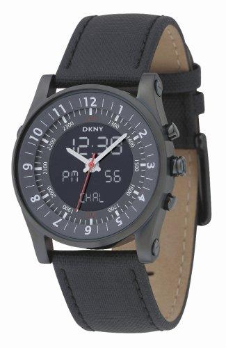 DKNY Ny1256Homme Noir Sangle montre
