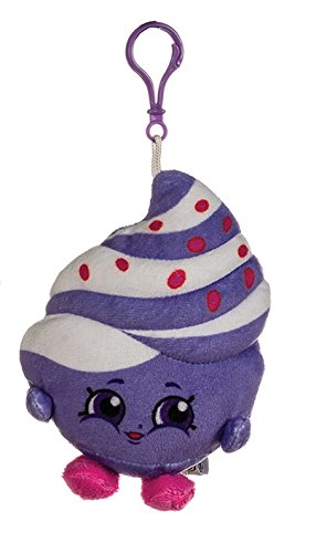 Shopkins Plush Bag Clip / Key Ring - Mary Meringue - 12 cm - Children's Accessories…