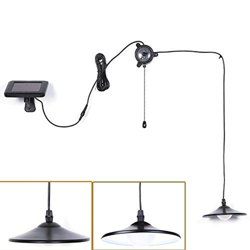 Luci, haichen solare LED luce con telecomando e cordino per uso interno ed (Corda Solare)