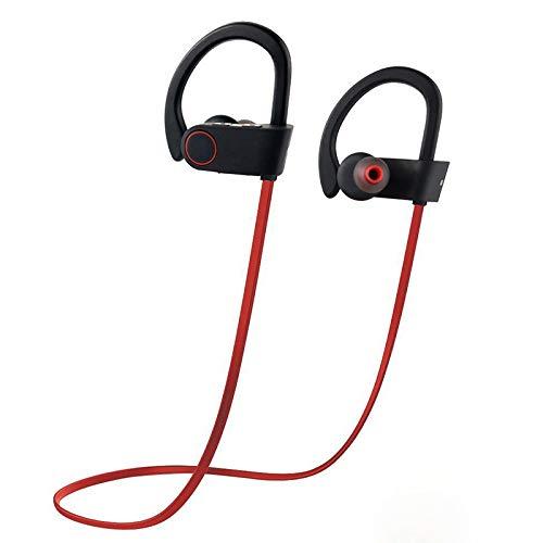 Auriculares Bluetooth Grimtec Los mejores auriculares inalámbricos Casco Mini Inalámbrico In-Ear Estéreo con Micrófono Incorporado y Cancelación de Ruido de Apoyo Manos Libres para Móviles iPhone Samsung y Andriod Teléfonos