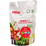 Farlin Eco-Friendly Liquid Cleanser 2.0 For Baby Bottles, Accessories, Fruits And Vegetables Refill Pack (700ml )