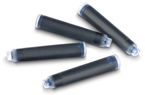 JPC CREATIONS Lot de 30 cartouches d'encre stylo plume standard effaçable Bleu