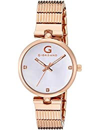 Giordano Analog Silver Dial Women's Watch - A2058-33