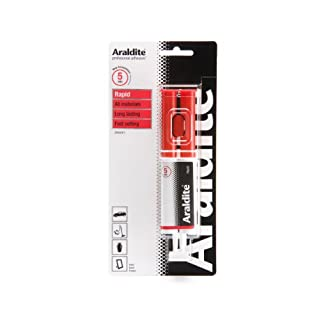 Araldite Rapid Syringe Epoxy, 24 ml