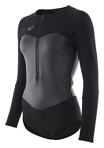 Roxy Damen Neoprenanzug Kurz 1.0 Satin Fz Bikini Spring B-Lck Neoprenanzug (Langarm-springsuit)