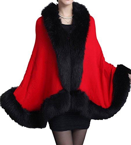 helan-femmes-faux-fox-fourrure-chale-cape-manteau-avec-floral-rouge