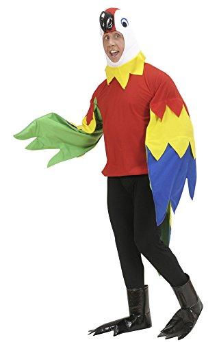 Widmann - Erwachsenenkostüm Papagei