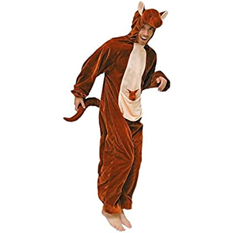 Stekarneval - Disfraz de canguro para hombre, talla 58 (9950858)