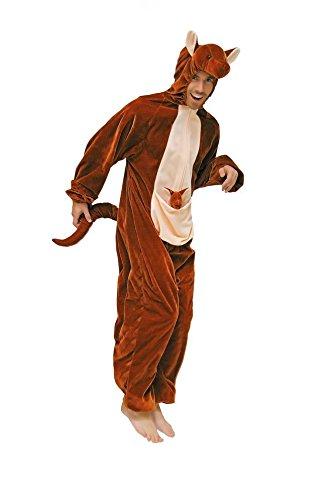 Känguru Kostüm Adult - Wilbers Federbein Herren EU 50/UK und US 40Känguru Kostüm