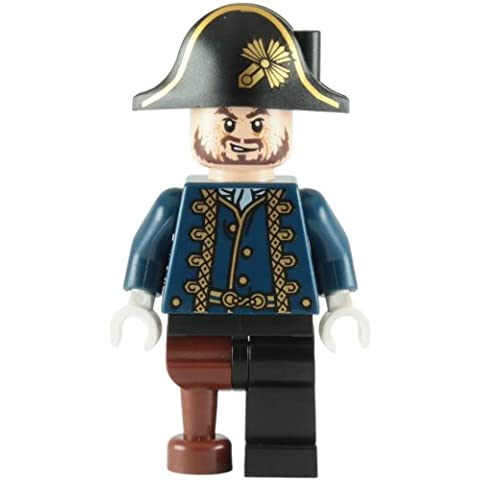 LEGO Piratas Del Caribe: Hector Barbossa Pata De Palo Minifigura