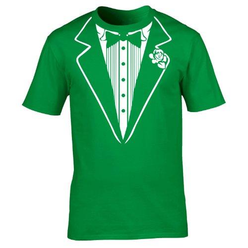 kids-glow-in-the-dark-tuxedo-t-shirt-l-age-9-11-kelly-green-premium-new-luminous-tuxedo-tux-prom-par