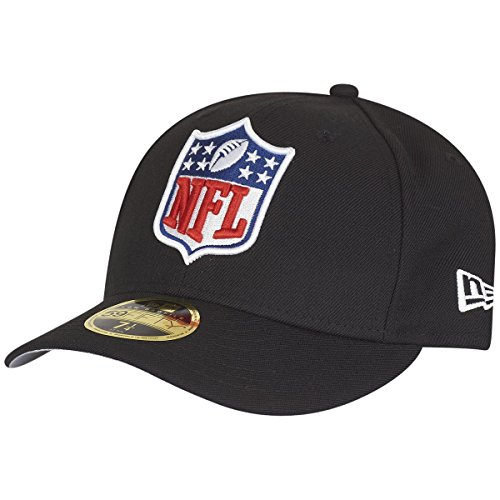 New Era 59Fifty LOW PROFILE Cap - NFL Shield - 7 1/8 (Cap Low Profile 3d)