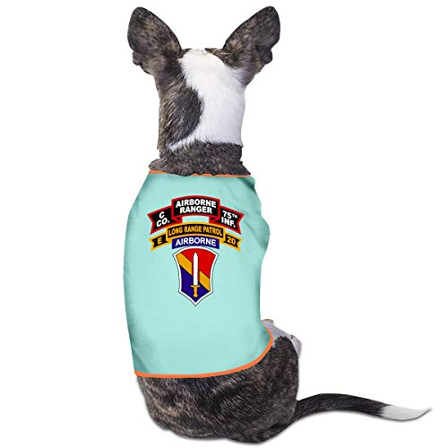 Girl Power Rangers Kostüm - Jiaojiaozhe Army C Company Rangers Pet Service Pet Clothing Funny Dog Cat Costume Tshirt Sky Blue