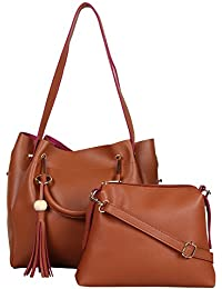 Kreative Women's Handbag With Sling Bag Combo