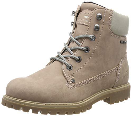 TOM TAILOR für Frauen Schuhe Schnür-Boots Nude, 38