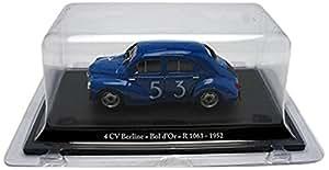 Eligor - G1153004 - Véhicule Miniature - Modèles À L'échelle - Renault 4 Cv - Bol Dor 52 - Echelle 1/43