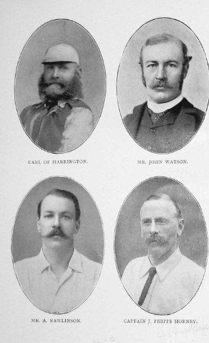 Polo Antico Harrington Watson Rawlinson del Ritratto 1902