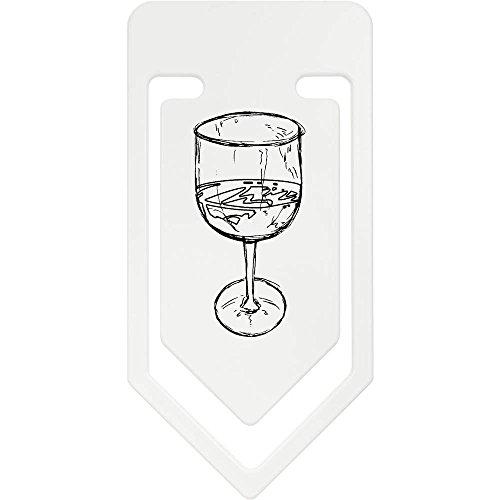 Riesige Wein Gläser (141mm 'Glas Wein' Riesige Plastik Büroklammer (CC00020360))