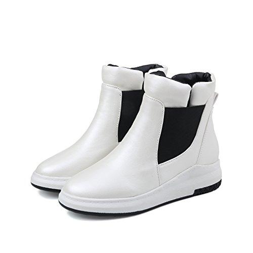 BalaMasa  Abl09605, Sandales Compensées femme Blanc