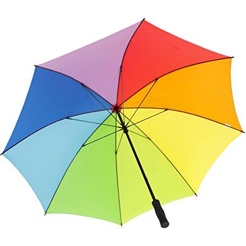 iX-brella - Clásico Multicolor arcoiris 130 cm