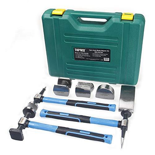 TOPWAY 454230 - Juego de herramientas para reparación de carrocería (7 piezas)