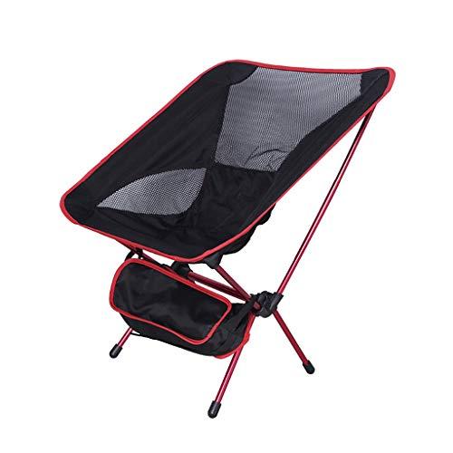 YF-Lounge chair Outdoor Freizeit Luxus Gepolsterte Falten Camping Stuhl Schwere Leichte, Tragbare Festival Angeln Outdoor Reise Sitz