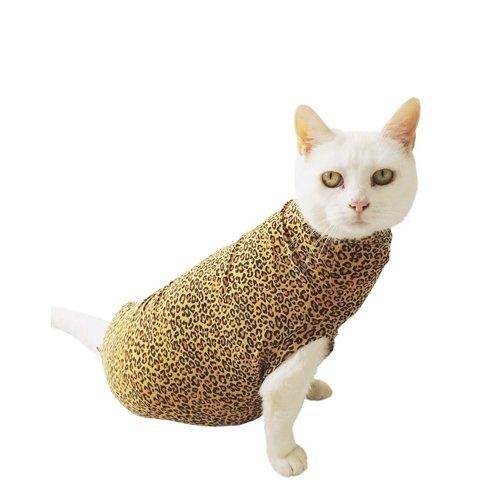 medical-pet-shirt-cat-leopard-print-xxxxs