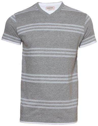 Hutson Harbour -  T-shirt - Uomo grigio marl chiaro