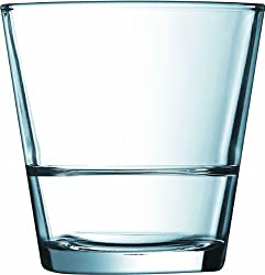 ARCOROC TEMPERED STACK UP O/F TUMBLER 320 ML SET OF 6 GLASS