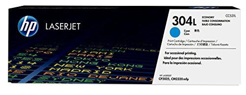 HP 304L Economy (CC531L) Blau Original Toner für HP Color LaserJet CP2025, CM2320 -
