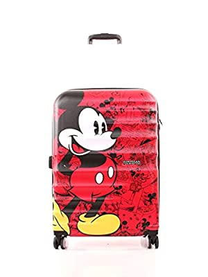 American Tourister Disney Wavebreaker Spinner Mickey + Minnie