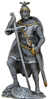 Pewter William Wallace Knight Figurine